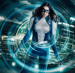 Nicole Maines stars as Nia Nal/Dreamer, television's first transgender superhero, in The CW's 'Supergirl.'