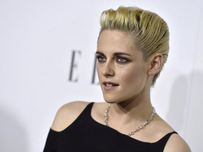 In this Oct. 24, 2016, file photo, Kristen Stewart arrives at the 23rd annual ELLE Women in Hollywood Awards at the Four Season Hotel in Los Angeles