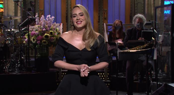 Watch: Adele Hosts 'SNL,' Says Her Upcoming Album 'Is Not Finished'