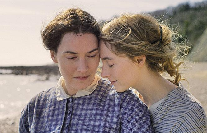 Kate Winslet and Saoirse Ronan in 'Ammonite'