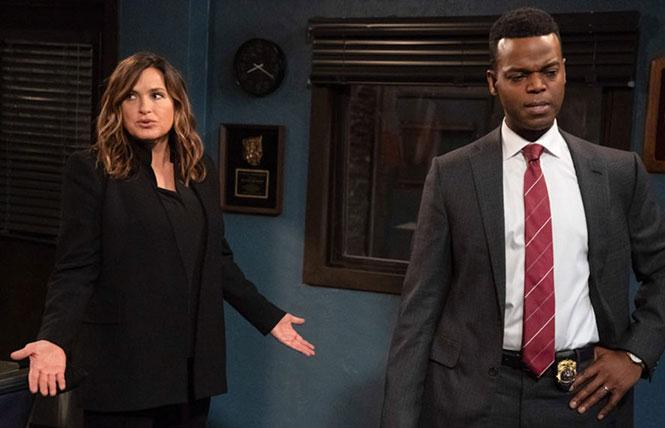 Mariska Hargitay and Demore Barnes in 'Law & Order: Special Victims Unit'