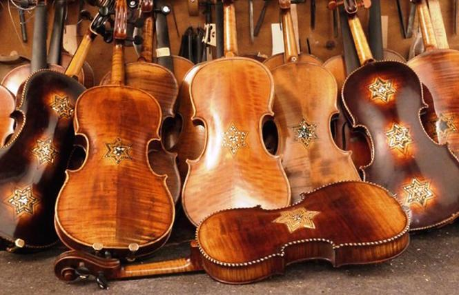 Violins retrieved and restored from the Holocaust.