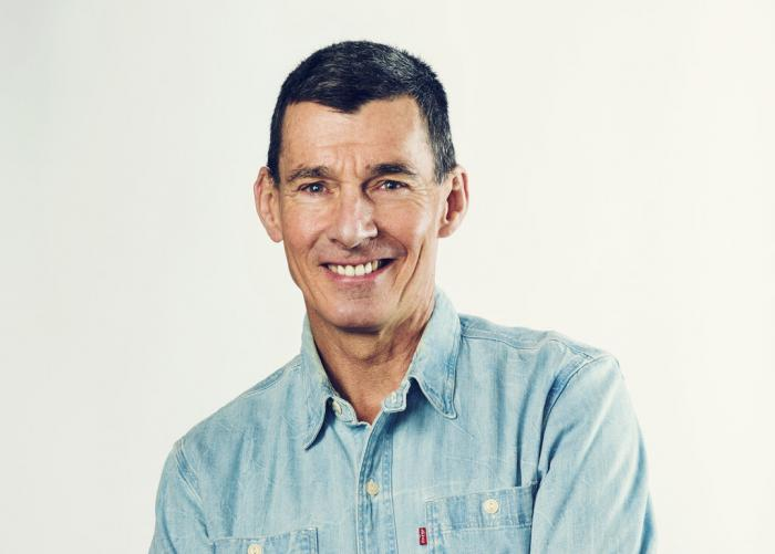 This photo provided by Levi Strauss & Co. shows the company's CEO Chip Bergh.