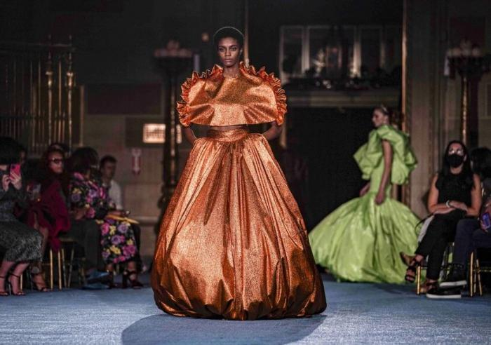 The latest fashion from Christian Siriano.