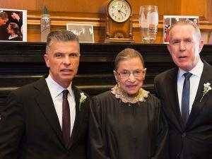 Gay Couple Recalls Being Married by RBG