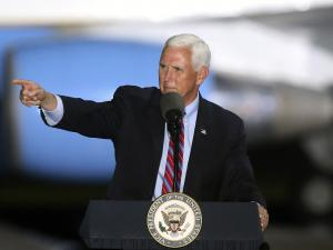 Pence to Keep Up Travel Despite Contact with Infected Aides