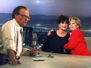 From Presidents to Faded Stars, All Welcomed by Larry King