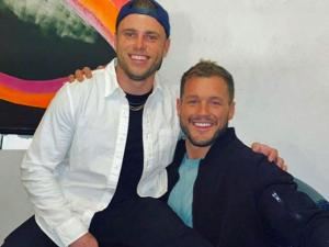 Gus Kenworthy Plays the Role of Colton Underwood's Mentor on Ptown Trip