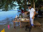 At Flooded Restaurant Near Bangkok, the Special is the Splash